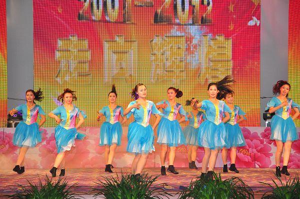 幼儿园表演的音舞快板《幸福家园》